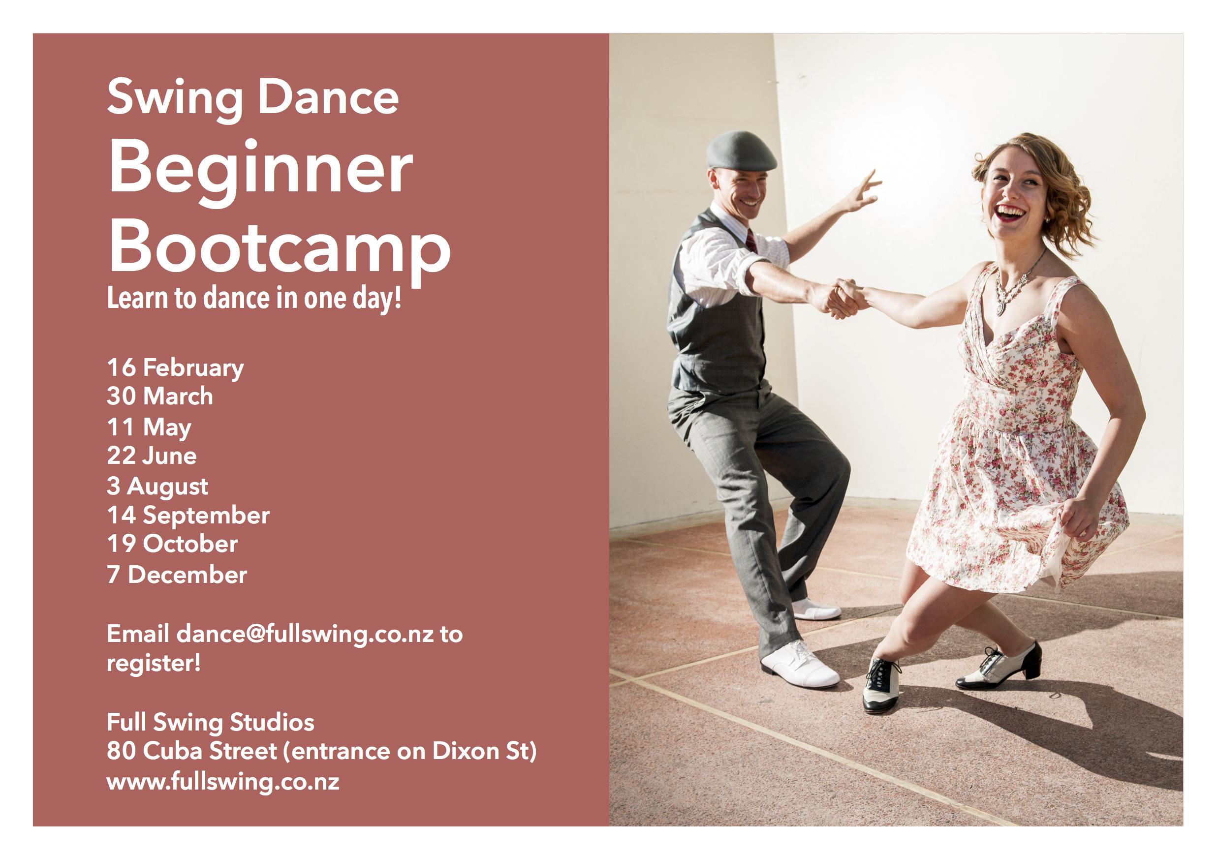 Full Swing: Vintage Dance Company, Wellington